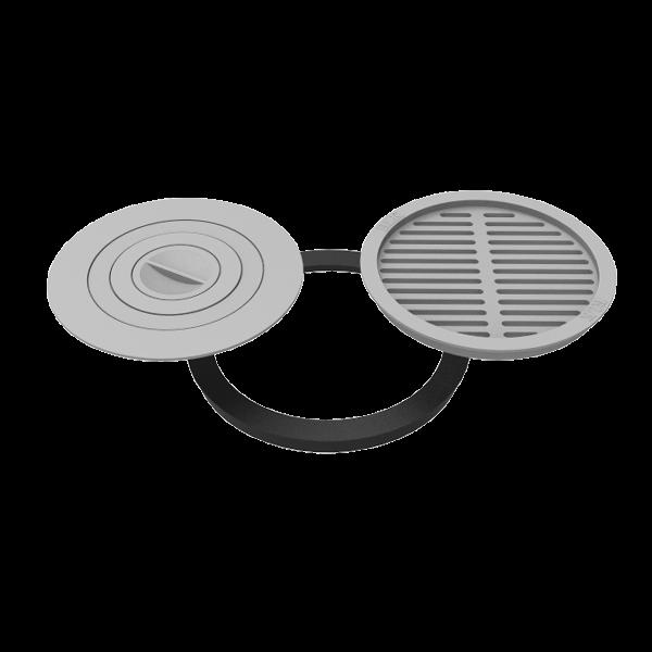 Комплект 480 (плита+решетка-гриль для печи Берель) - фото 7127